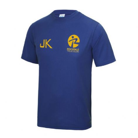 Rochdale Tri Club Kids Cool Tshirt